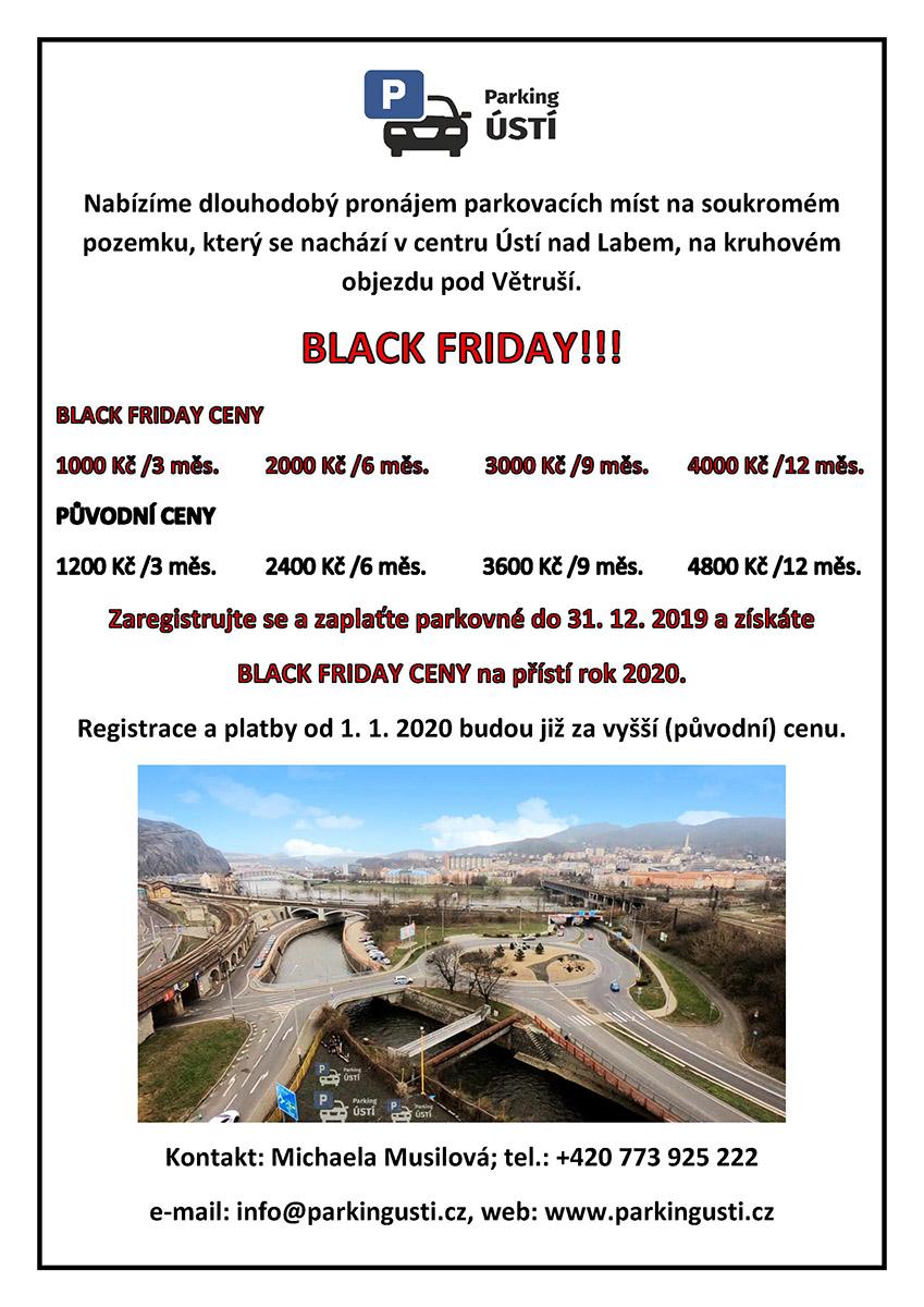 BLACK FRIDAY - slevy do konce tohoto roku!